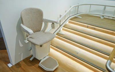 Monte escalier électrique et monte personne